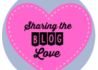 Sharing the blog love
